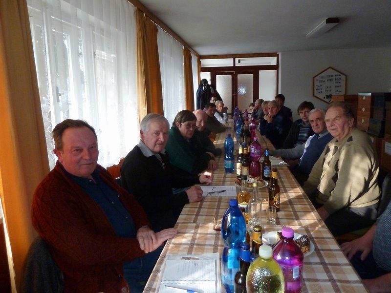 Výroční schůze včelařů 2018