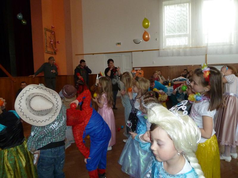 Dětský karneval 26.2.2017