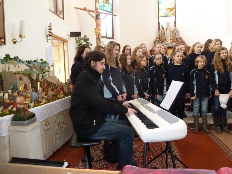 Koncert dětského pěveckého souboru Motýlek