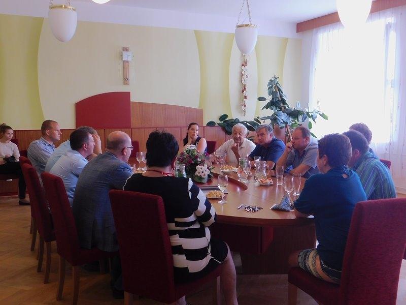 Návštěva premiéra Mgr. B.Sobotky