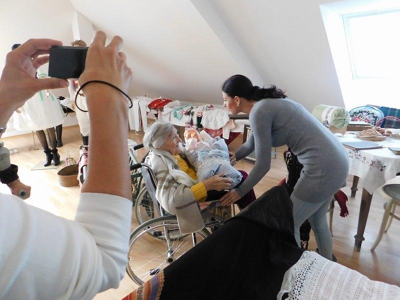 Návštěva seniorů z domova důchodců z Kyjova