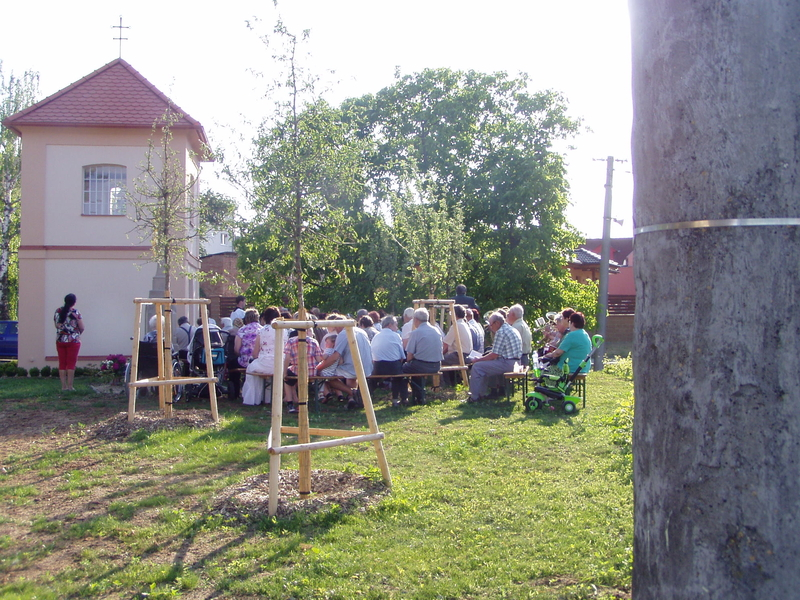 Boží Tělo v Násedlovicích u kapličky sv. Václava