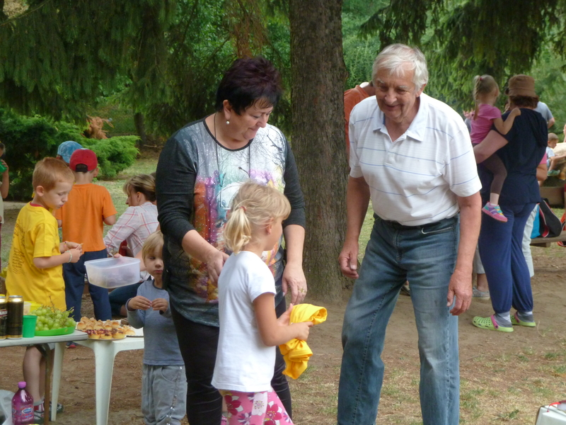 Rozloučení s předškoláky v MŠ