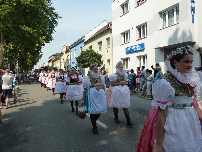 Násedlovice na Slováckém roku v Kyjově