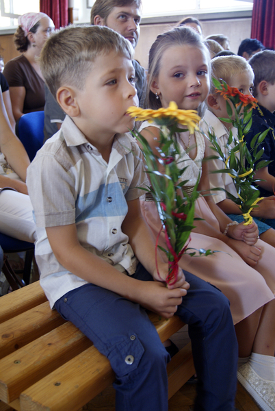 Zahájení nového školního roku - Násedlovice prvňáčci