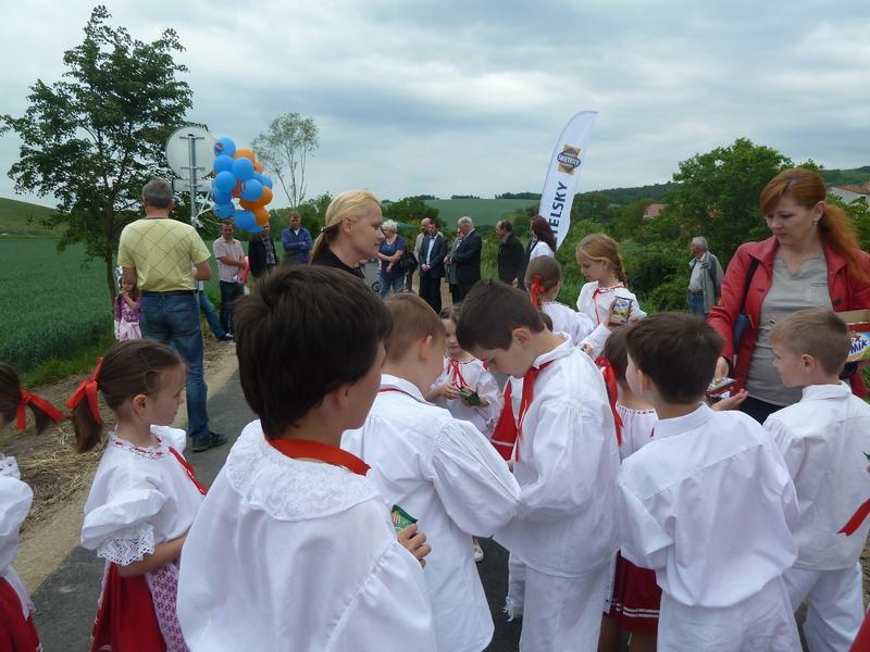 Násedlováček na otevření 1.etapy cyklostezky Ždánicko Želetice - Dražůvky 19.5.2015