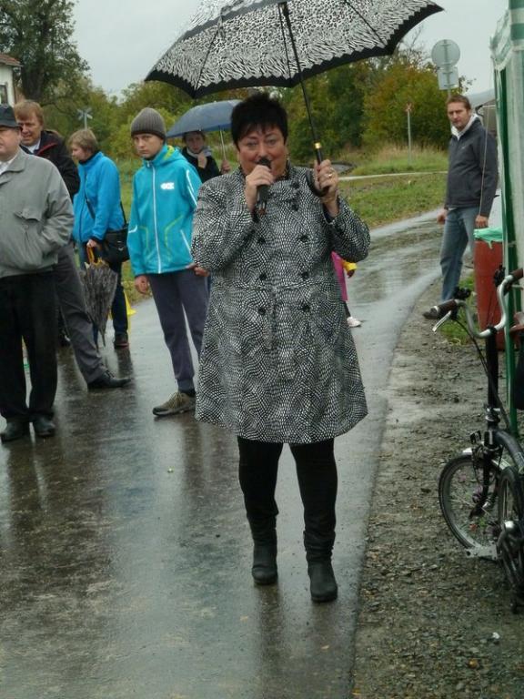 Otevření II.etapy cyklostezky v Janovém Dvoře