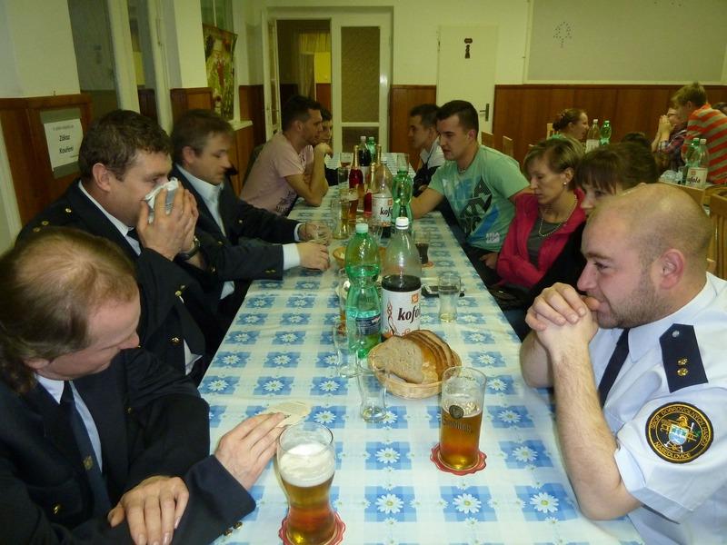 Hasiči výroční schůze