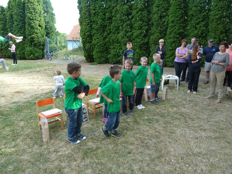 Rozloučení s předškoláky 26.6.2014