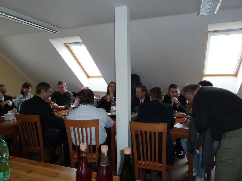 Hasiči - výroční schůze