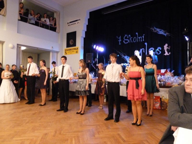 Školní ples v Žarošicích
