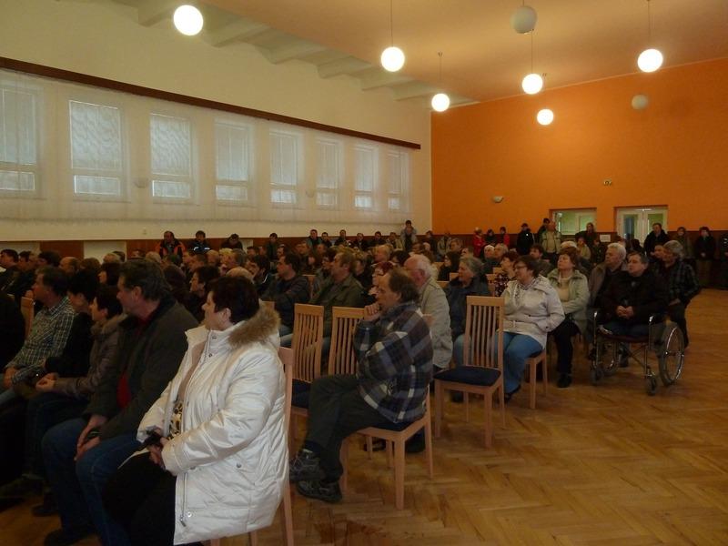 Informativní schůzka - plánování ČOV a kanalizace