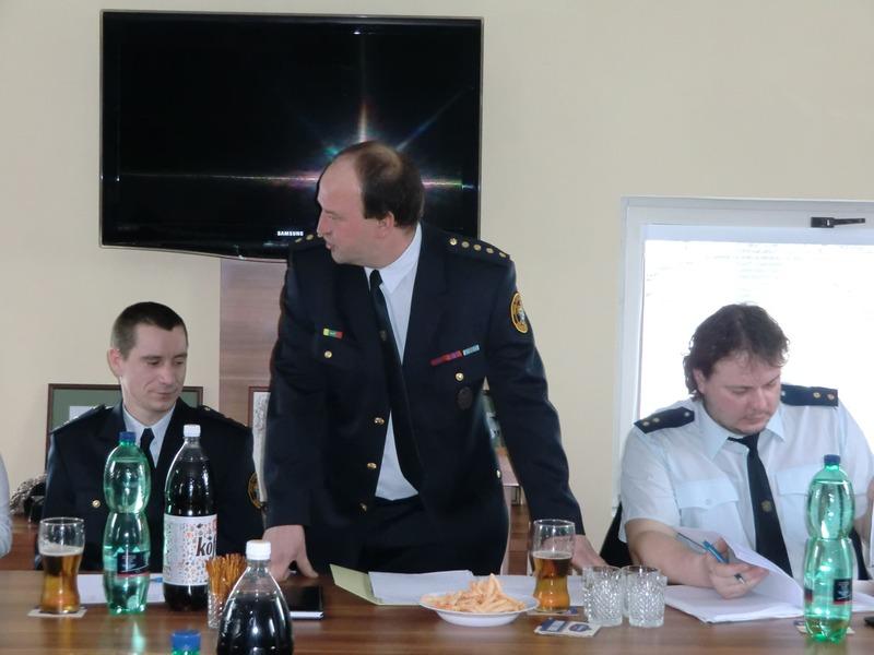 Výroční schůze hasičů