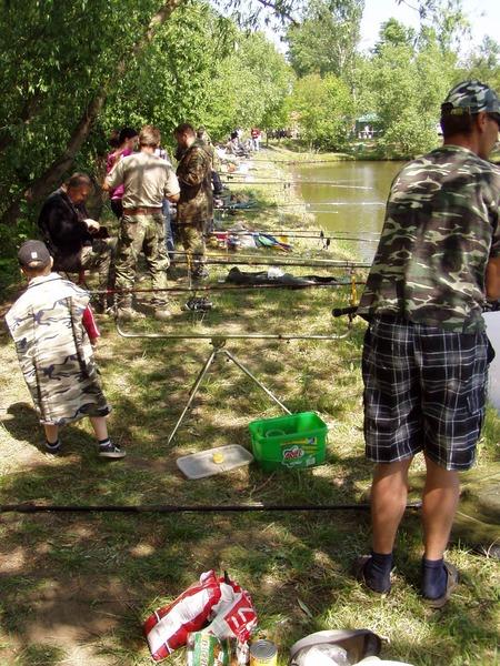 Rybářské závody 2012