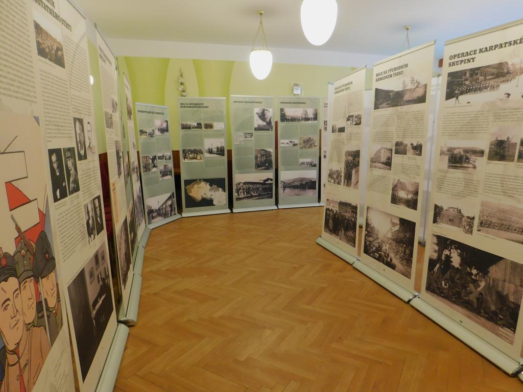 Výstava ke 100. výročí vzniku Československa