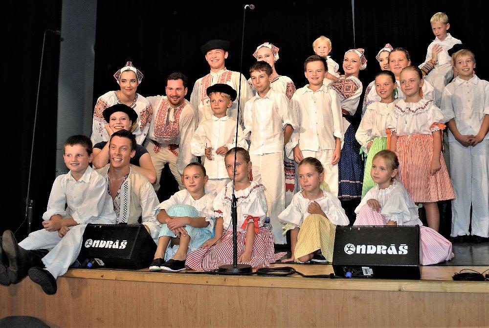 Vystoupení v Letonicích