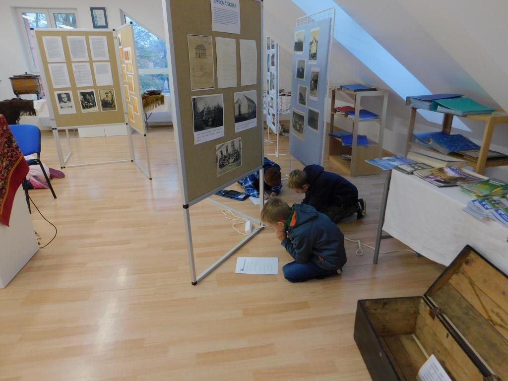 Třeťáci v muzeu