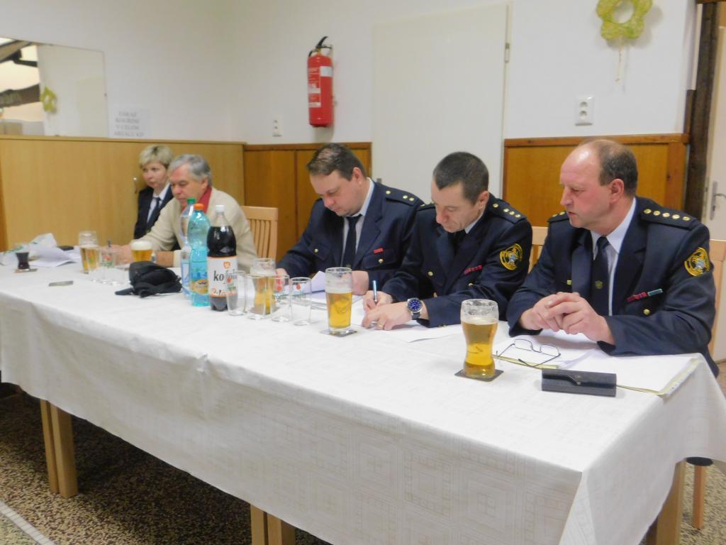 Výroční schůze SDH