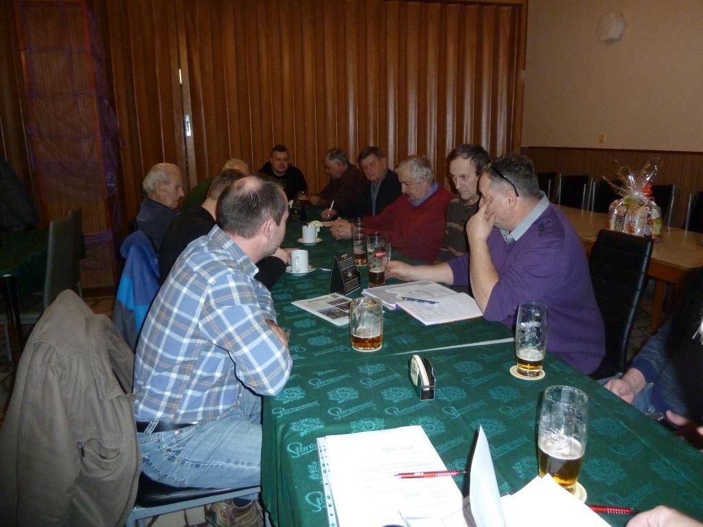 Výroční schůze ZO ČZS