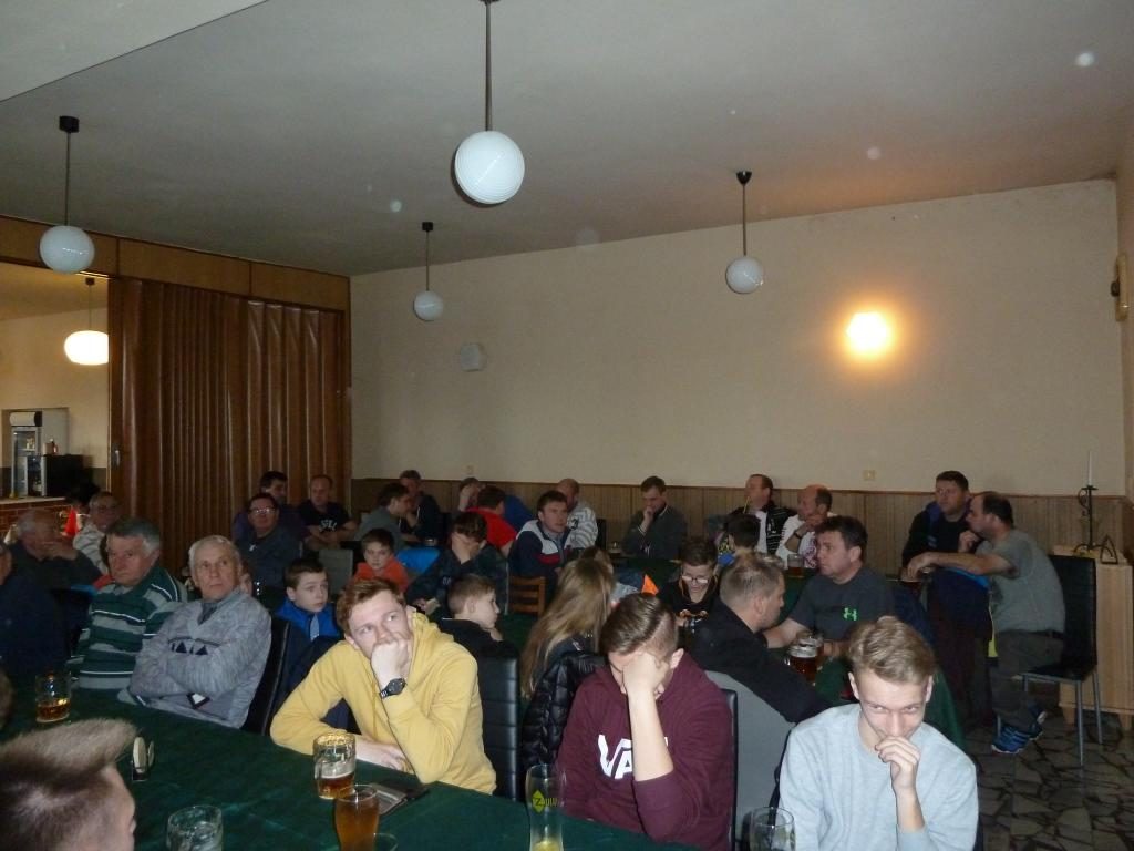 Výroční schůze TJ Moravia