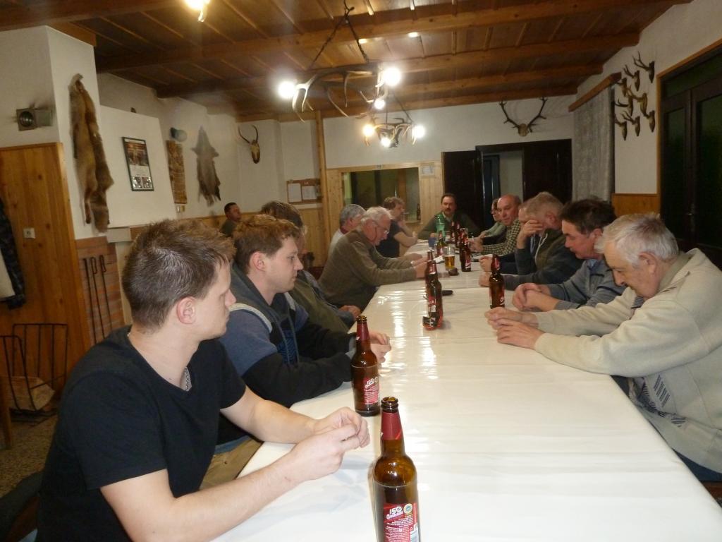 Výroční schůze Mysliveckého spolku Obora