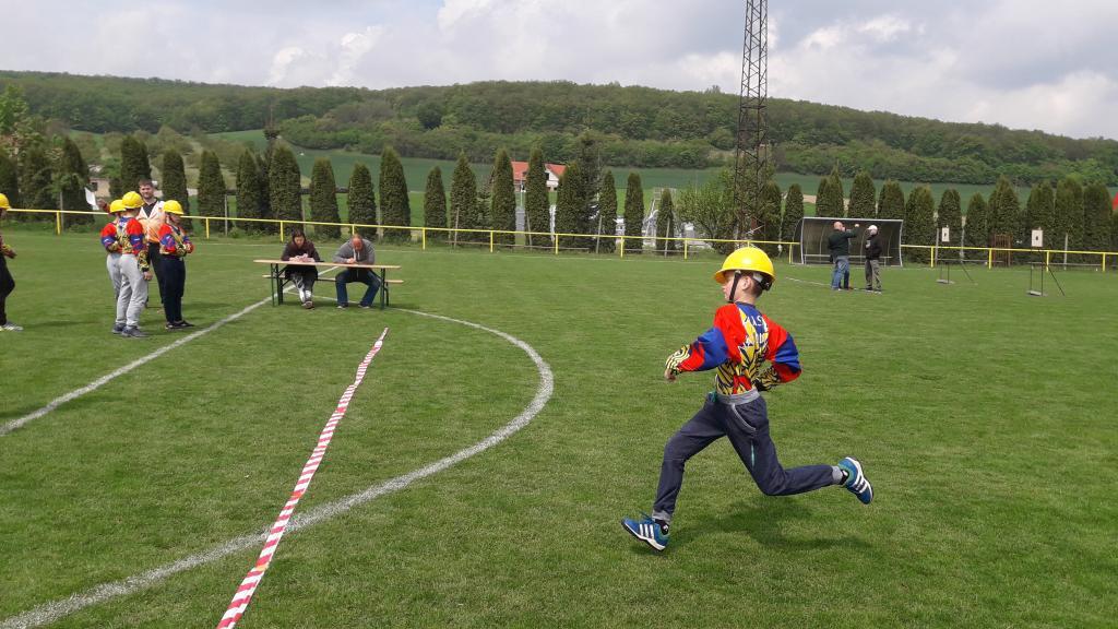 Okrsková soutěž - Mladí hasiči