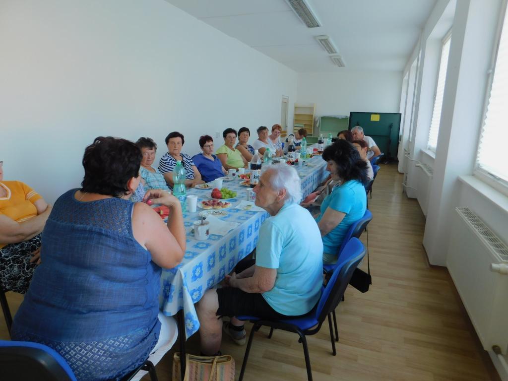 Klub důchodců a trénink paměti