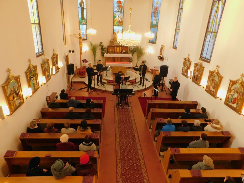 Komorní soubor Musica Animae a žesťové kvinteto