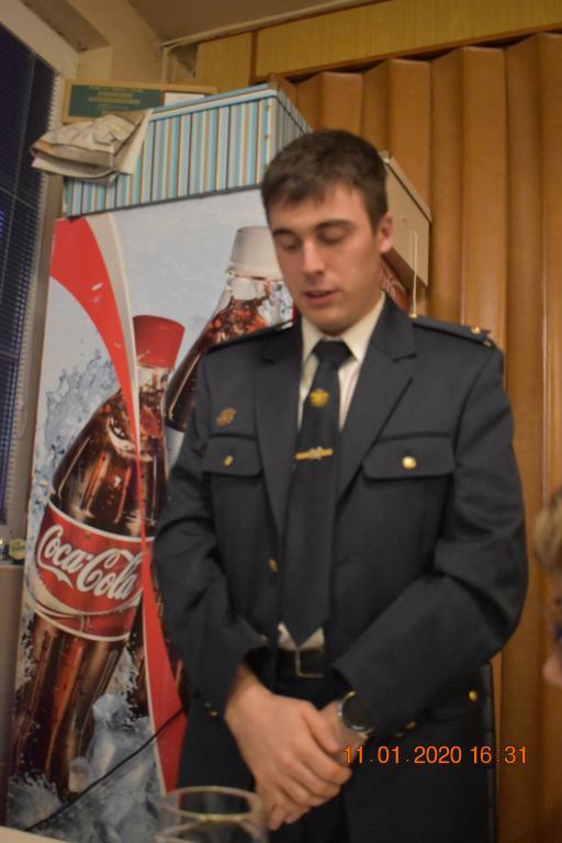 Výroční schůze Sboru dobrovolných hasičů
